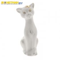 Копилка «Кошка Алиса» белая