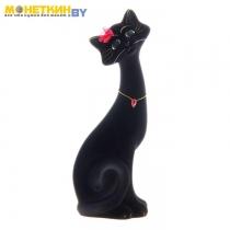 Копилка «Кот Маркиз» большой черный