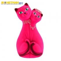 Копилка «Влюбленная Пара» розовый
