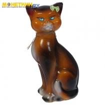 Копилка «Кошка Даша» глянец шоколад