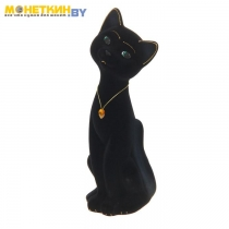 Копилка «Кот Матвей» большой черный