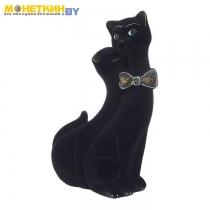 Копилка «Коты Пара Лакки» черный