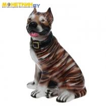 Копилка «Собака Стафф» глянец тигровый