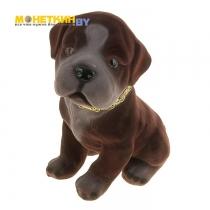 Копилка «Собака Сенбернар» коричневый