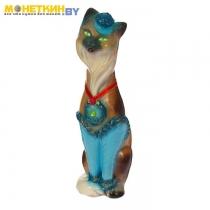 Копилка «Кошка Мишель» глянец коричневый