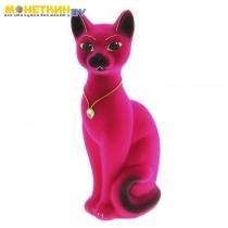 Копилка «Кот Кузя» малый розовый