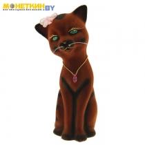Копилка «Кошка Алиса» коричневая