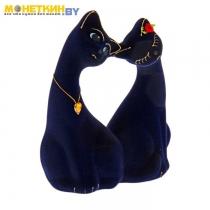 Копилка «Влюбленная пара» малая синия