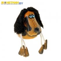 Копилка «Собака» коричневая