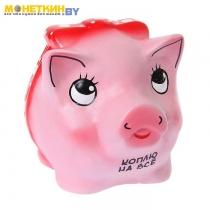 Копилка «Свинка с бантиком»
