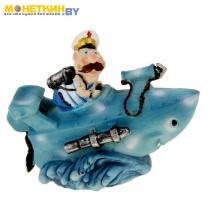 Копилка «Моряк в подводной лодке»