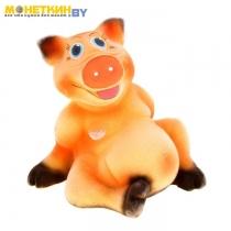 Копилка «Хрюша» желто – оранжевый