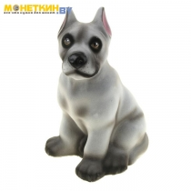 Копилка «Собака Дог» серый