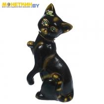 Копилка «Кошка лапушка» глазурь черная