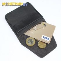 Монетница «№ 1» чёрная
