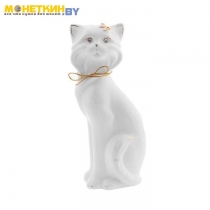 Копилка «Кошка Матильда» глянец белая