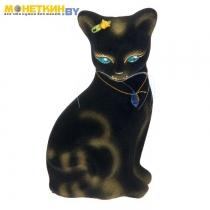 Копилка «Кошка Лиза» черный