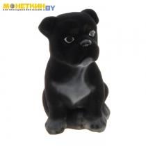 Копилка «Собака Бульдог» малый черный