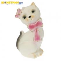 Копилка «Кот Джаспер» белый