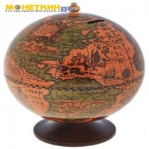 Глобус – копилка «Тайные сокровища»