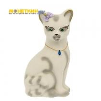 Копилка «Кошка Лиза» белая