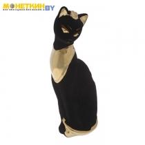 Копилка «Кошка Ася» булат черный