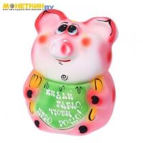 Копилка «Свинка: кидай бабло, чтобы пузо росло!»