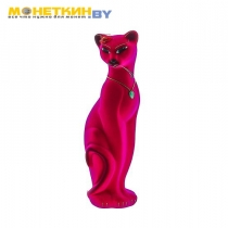 Копилка «Кошка Багира» розовая