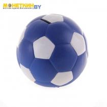 Копилка «Мяч» синяя