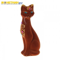 Копилка «Кошка Камила» коричневая