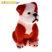 Копилка «Собака Бульдог» малый, рыжий