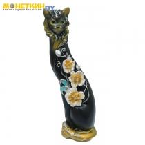 Копилка «Кошка Маркиза» Орхидея чёрн