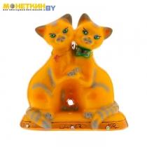 Копилка «Коты танцующие» глянец желтый