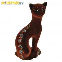 Копилка «Кошка Ласка» коричневый