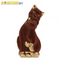 Копилка «Пара котов» булат коричневый
