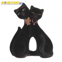Копилка «Коты пара фантазия» черный