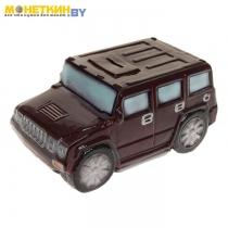 Копилка «Машина внедорожник» коричневый