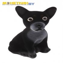Копилка «Собака Чихуахуа» малая черный