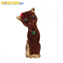 Копилка «Кошка Алиса» булат коричневая