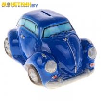 Копилка «Машина Жук» синяя