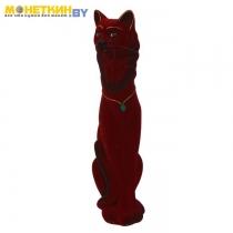 Копилка «Кошка Фея» большая бордовый