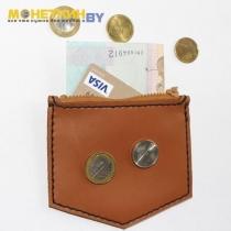 Монетница «№ 2» коричневая