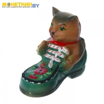 Копилка «Кот ботинок»