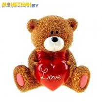 Копилка «Мишутка с сердцем Love»