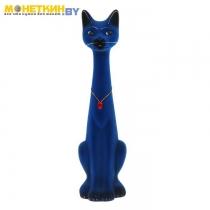 Копилка «Кот Мурзик» большой синий
