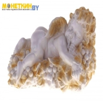 Копилка «Ангел на винограде» белый