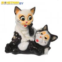 Копилка «Пара котят» глянец