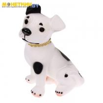 Копилка «Собака Рэкс» белый