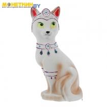 Копилка «Кошка Принцесса» белый