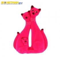 Копилка «Коты пара грация» розовый
